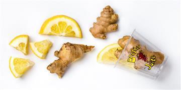 Booster Juice Ginger Lemon